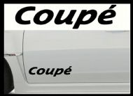 COUPE CAR BODY DECALS